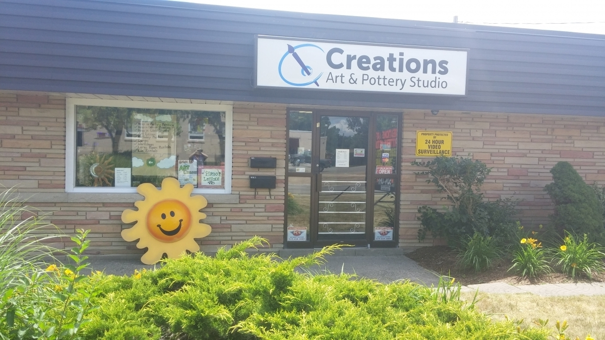 About Us - Creations Art and Pottery Studio